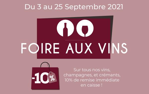 Hyperboissons Foire aux vins Dijon 2021